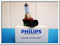 Philips Blue Vision Bulb H11, 12V/55W