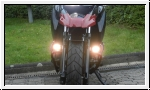 BMW F 650 GS Halogen Fog/driving lamps installation down