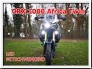 Honda CRF 1000L Africa Twin Fog/driving lamps